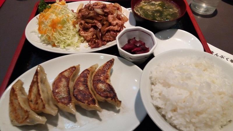 焼き肉・餃子セット