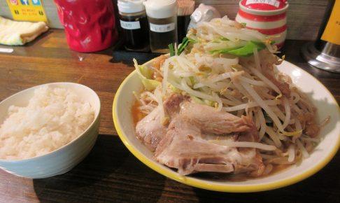 熊谷肉飯店のラーメン