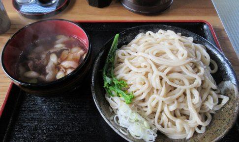 武蔵野うどん 粉麦、注文をした、肉汁つけ麺