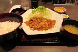 大戸屋 アズ熊谷店 生姜焼き定食