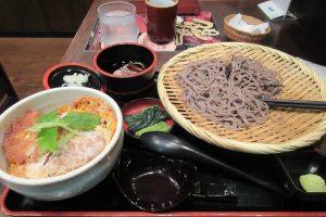 そじ坊熊谷ティアラ21店、カツ丼セット