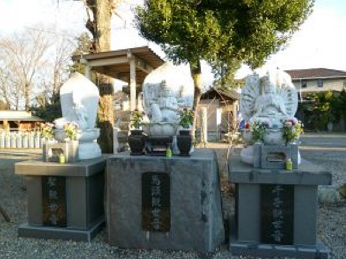馬頭観音妙安寺の石像
