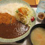 かつ敏(東松山店)のカツカレー