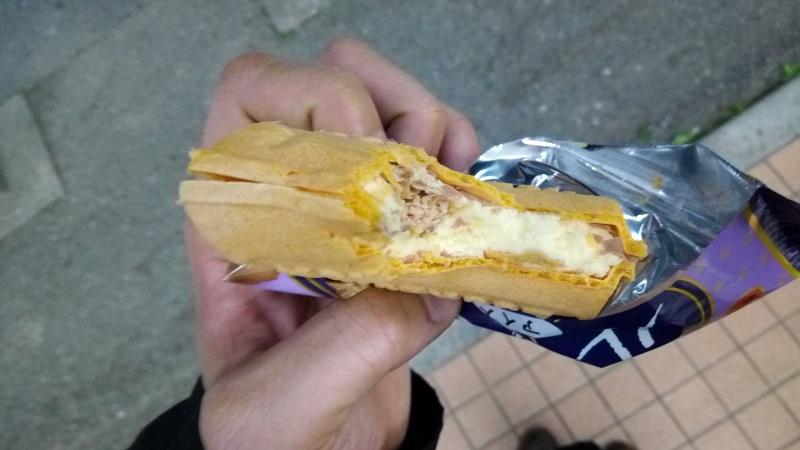 ルマンドアイス、食ってみた