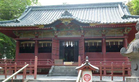 世良田東照宮の本殿