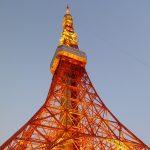 東京タワー、別アングル