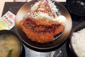 とんかつ松乃家 川越西口店の得朝ロースかつ定食
