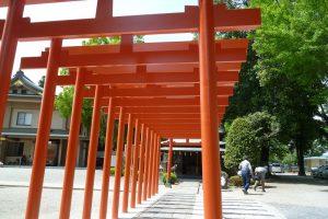 箭弓神社の鳥居