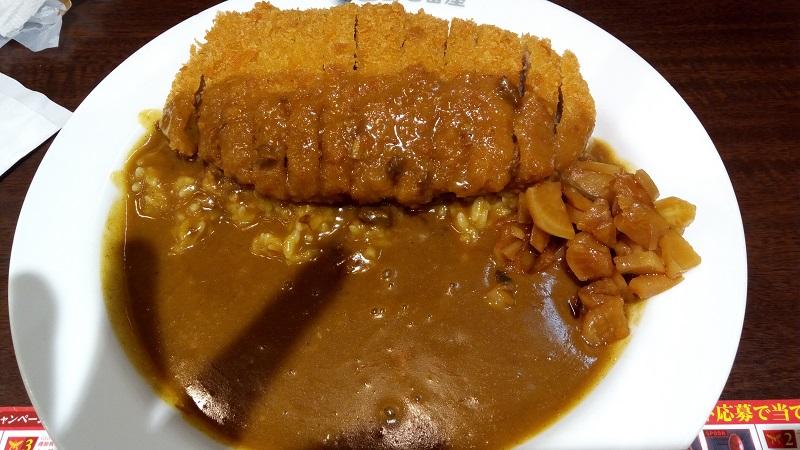 CoCo壱番屋 熊谷駅店、チキンカツカレー