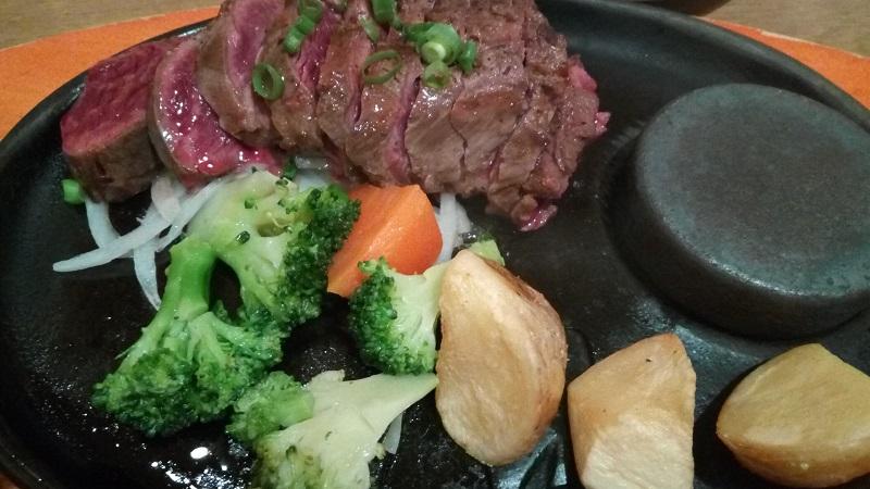 ステーキのどん(東松山店)のおろしポン酢ステーキ