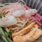東平軒の中華冷麺のアップ