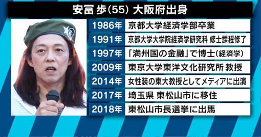 安冨歩氏の経歴