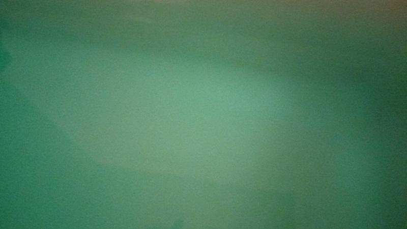 メディケイティッド 冷涼クールを風呂に入れてみたらエメラルドグリーンに!