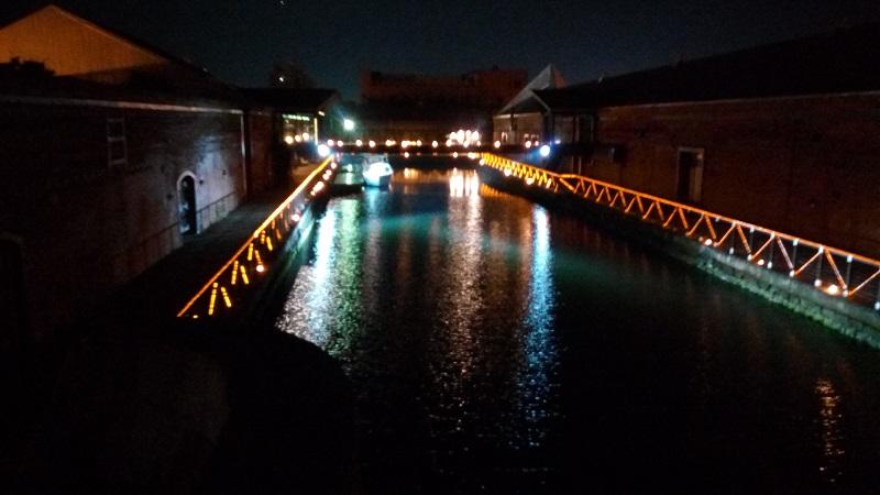 夜の赤レンガ倉庫、結構良い感じ