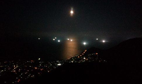 函館山からの夜景、別角度1