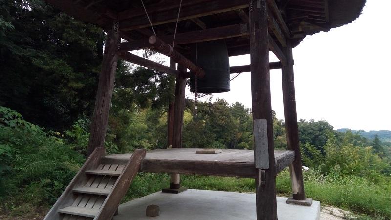 岩殿観音正法寺の鐘