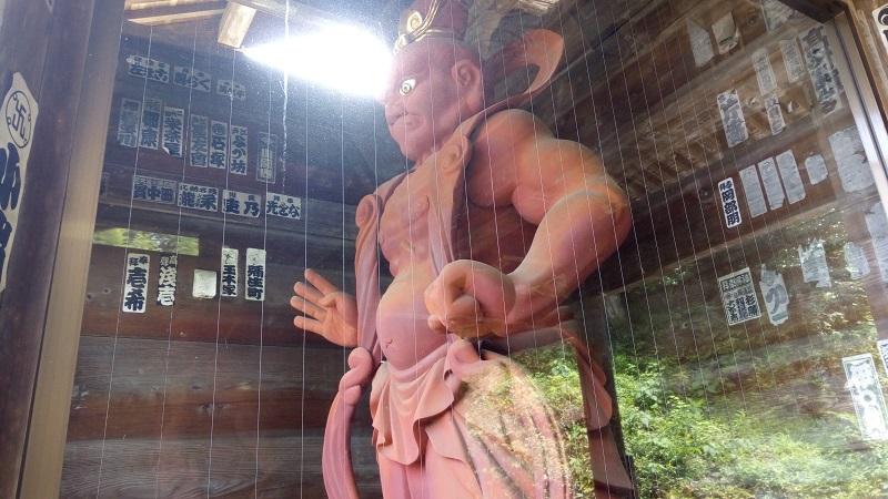 岩殿観音正法寺、運慶作と言われている像