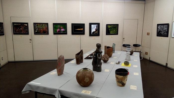 第41回、東松山美協展(写真と粘土)