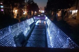第二回、星川夜市のライトアップされているシーン4