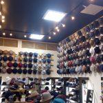帽子屋フレイヴァの店内の様子