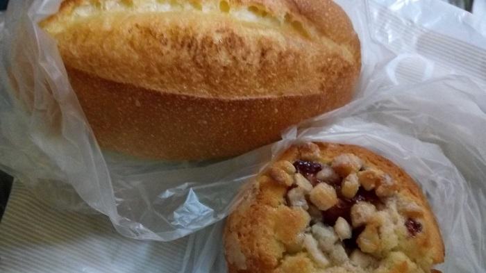 アンデルセン(八木橋店)で購入した塩パンとなんだっけ?