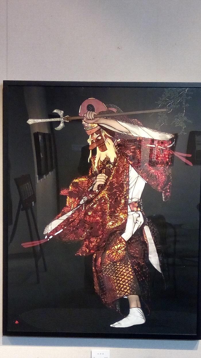 ギャラリー&カフェ 亜露麻、加藤さんの最新作品