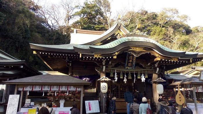 江ノ島神社の本殿