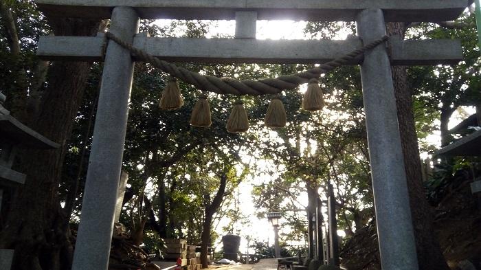 児玉神社の鳥居