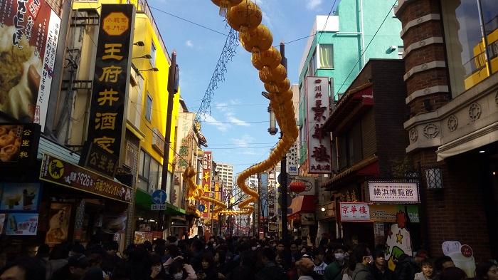 横浜中華街のシーン2