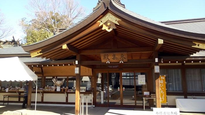 行田八幡神社の社務所