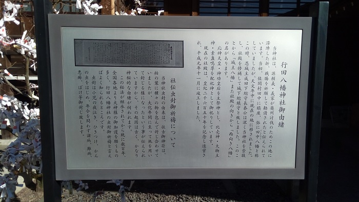 行田八幡神社の由来
