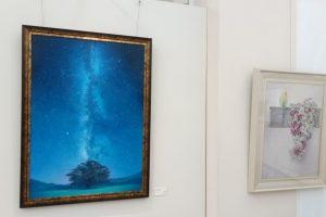 東松山美術展で飾られている作品(雰囲気3)