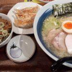 直久 本川越店、こってりラーメンの塩セット