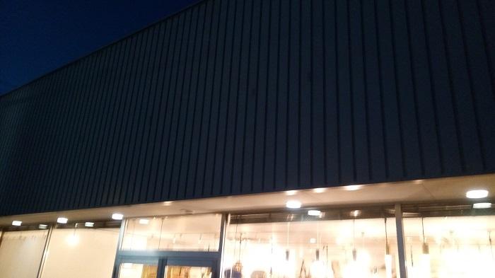 北欧家具 tanuki、店の外観はこんな感じ