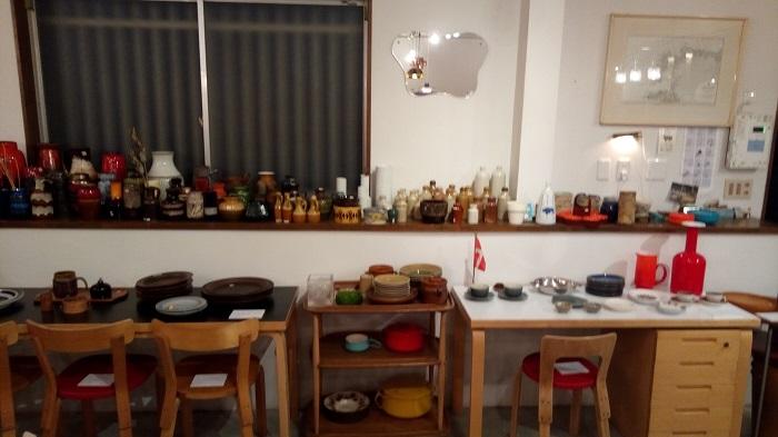北欧家具 tanuki、店内の様子