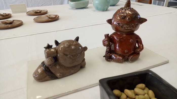 第24回平野文化祭の陶芸
