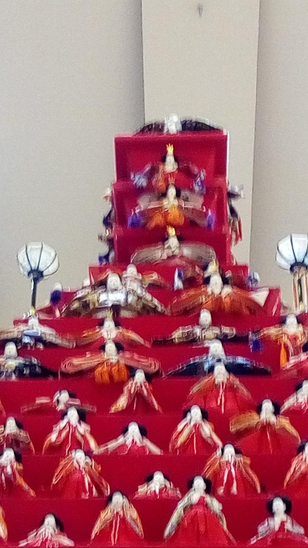 鴻巣びっくりひな祭り、頂上を撮影