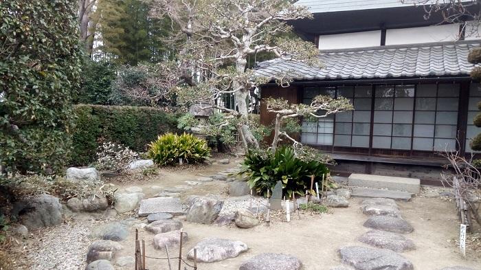 長島記念館の庭園