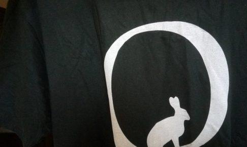 QanonのTシャツ到着!