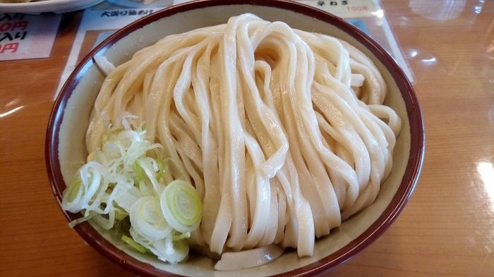 四方吉うどん、肉汁つけ麺(中)