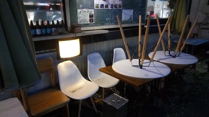 レトロポップ食堂、外の様子