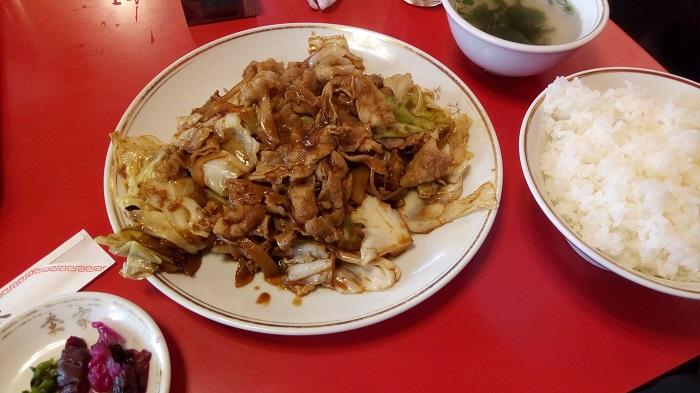 李家の回鍋肉