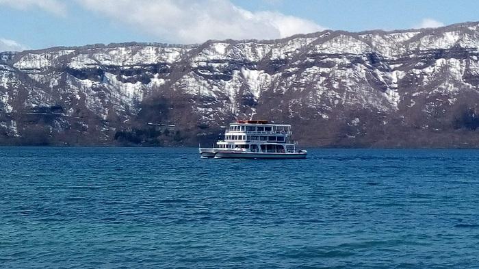 十和田湖、遊覧船