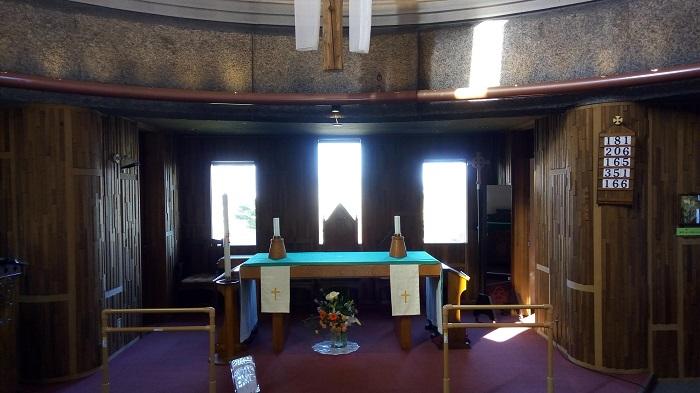 函館聖ヨハネ教会、中の写真
