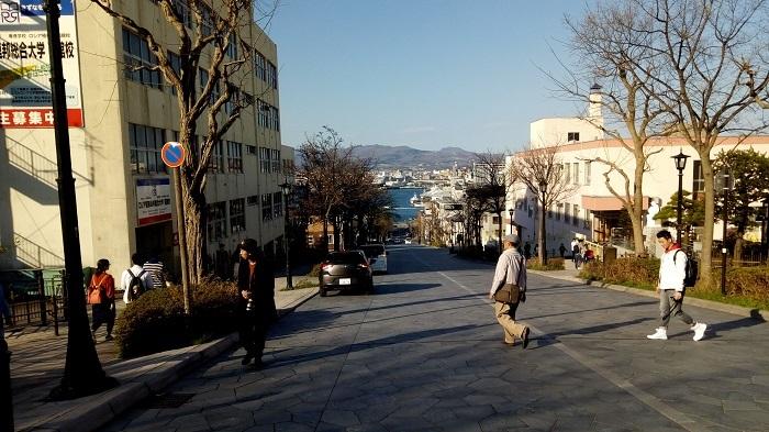 函館の有名な坂道