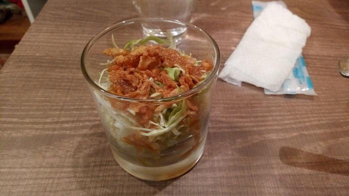 尾木カリー、サラダ