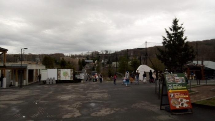 終了間際の旭山動物園