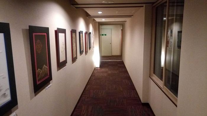 和風旅館扇松園の廊下