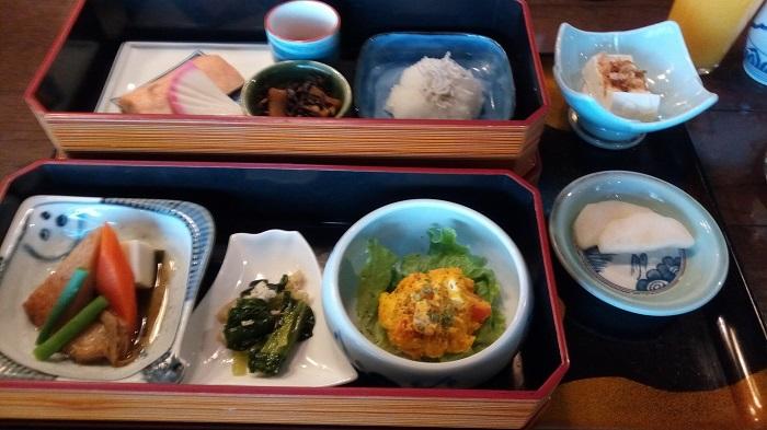 扇松園の朝食