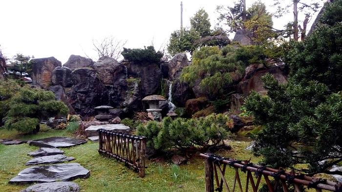 扇松園の庭